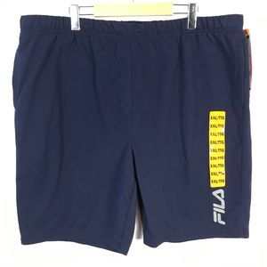 Fila French terry shorts
